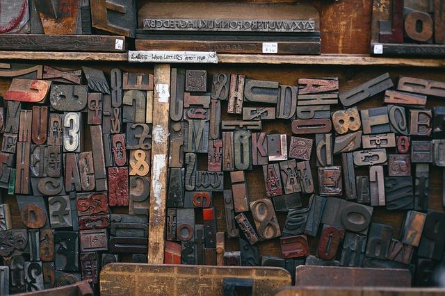 Photo of wood block type