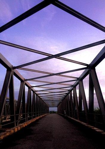 Photo of bridge and open sky