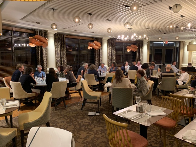 Photo of Opening dinner at TriangleSCI on Sunday evening