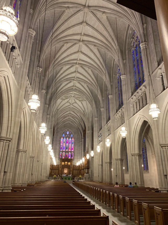 Photo of Duke Chapel interior