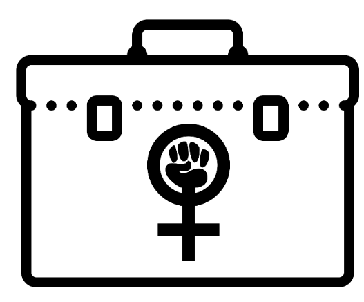 Graphic of feminist toolkit